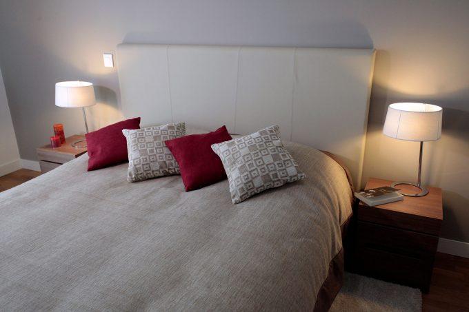 Chambre d'une appartement de la résidence COGEDIM Club à Sèvres