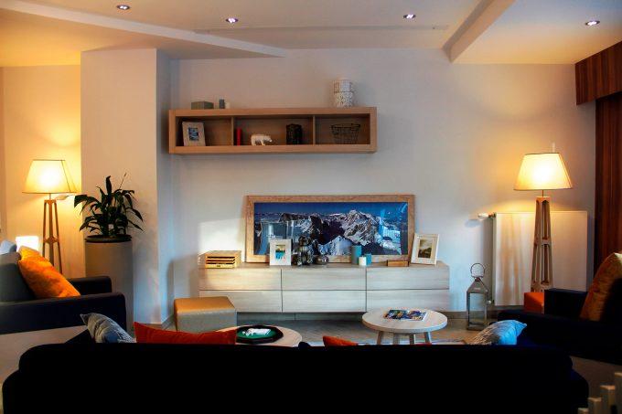 Espace commun de la résidence seniors avec services Arpitania Chambéry