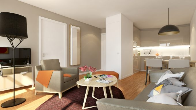Appartement de la résidence seniors COGEDIM Club Massy