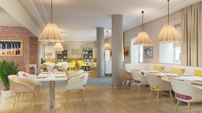 Restaurant de la résidence pour seniors COGEDIM Club Les Jardins d'Artois Arras