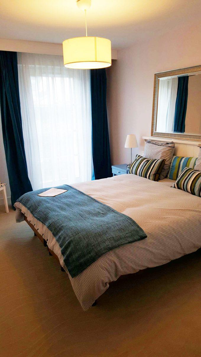 Chambre d'un appartement résidence seniors COGEDIM Club Bénodet