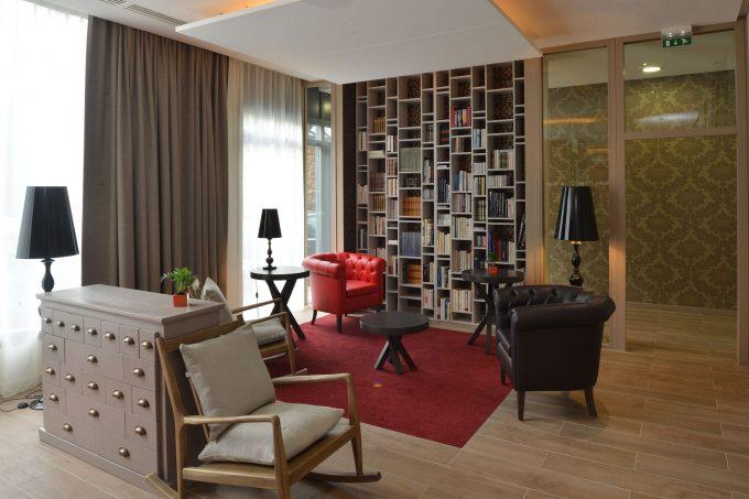 Espace commun résidence seniors avec services COGEDIM Club Arcachon
