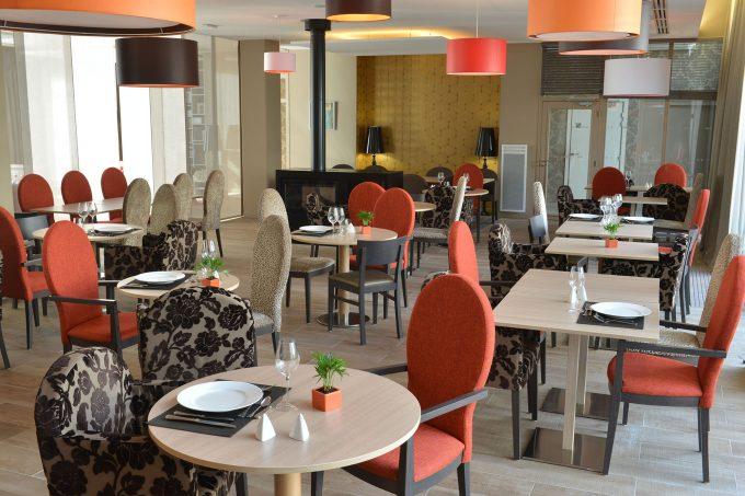 Restaurant de la résidence pour seniors Arcachon Le Patio Plaisance COGEDIM Club