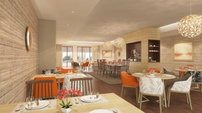 Restaurant de la résidence seniors COGEDIM Club Terre de Seine à Suresnes